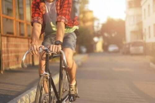 sportliche Aktivität - Fahrrad fahren