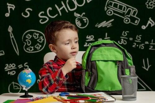 Kind mit Lese-Rechtschreib-Störung