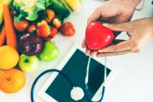 Gemüse und ein gesundes Herz