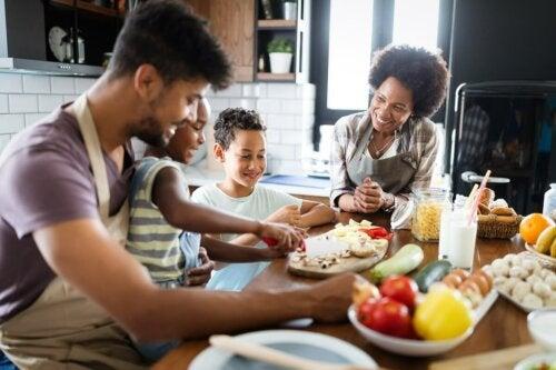 Kindgerechte Ernährung: Kocht gemeinsam!