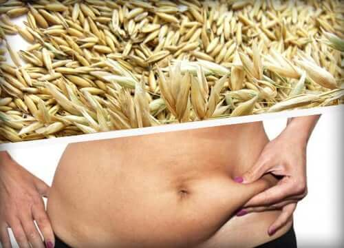Hafer zum Abnehmen - Bauchfett