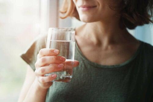 Wasser in der mediterranen Diät