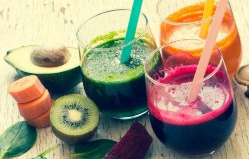 Glucose in Fruchtsäften