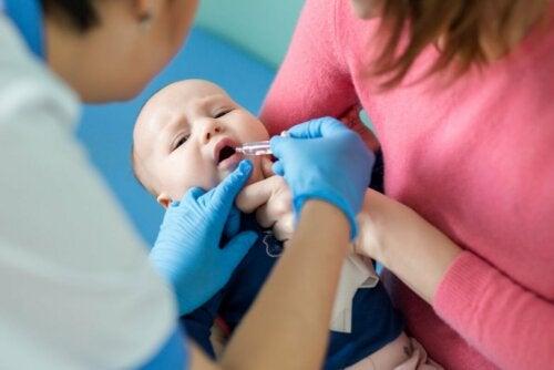 Impfung gegen Poliomyelitis