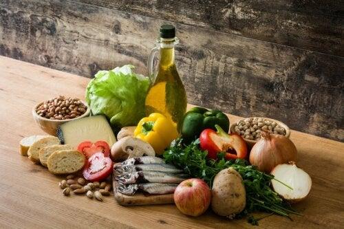 mediterrane Diät mit Olivenöl
