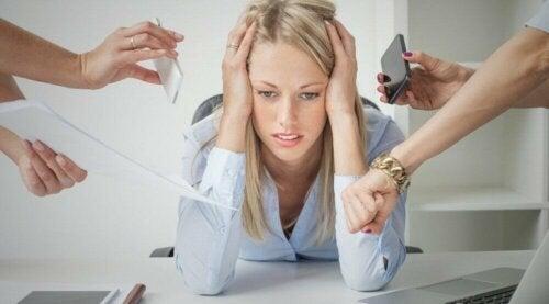täglicher Stress ist sehr belastend