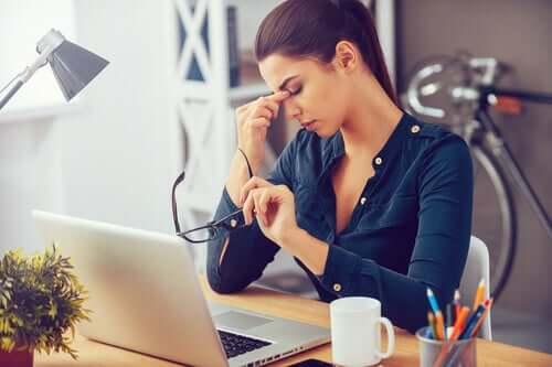 täglicher Stress im Büro