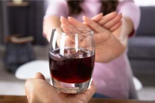 während deiner Schwangerschaft - kein Alkohol