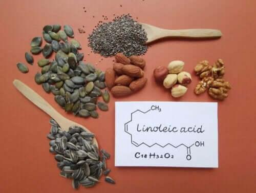 Linolsäure - verschiedene Samen