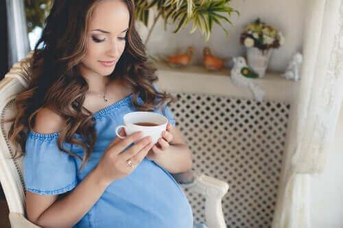 Solltest du während der Schwangerschaft Tee trinken?