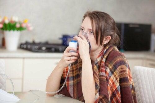 Bakterien in den Lungen: Symptome