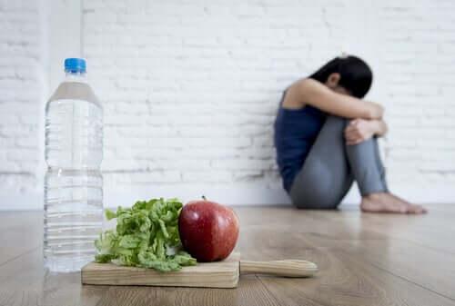 Frau macht sich zu viele Sorgen um die Gesundheit