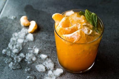 Kurkuma-Smoothies - Mandarine