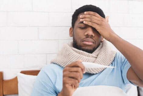 Infektionserreger, wie Viren und Bakterien, können Fieber verursachen