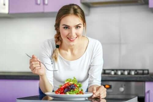 Bei einer veganen Ernährung wird auf tierische Produkte verzichtet