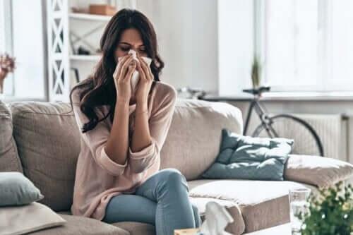 Asthmatiker leiden mit hoher Wahrscheinlichkeit auch an einem Nasenkatarrah