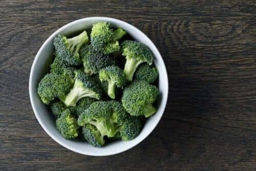 Gefrorener Brokkoli hält bis zu einem Jahr