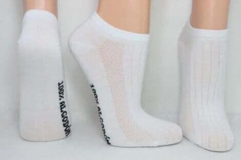 Wechsele täglich deine Socken