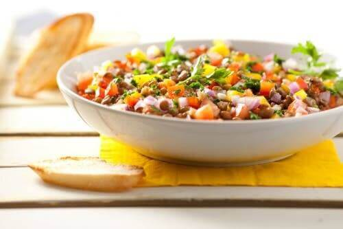 Linsenrezepte - Salat