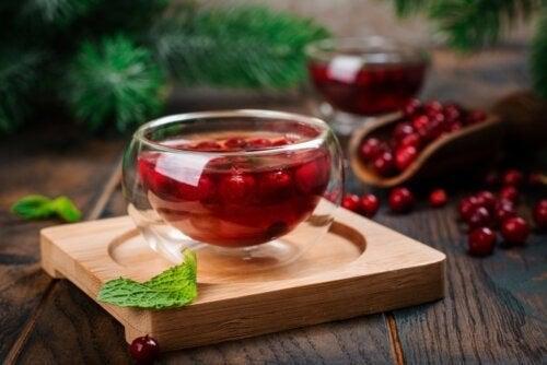 5 Vorteile von Cranberry-Tee