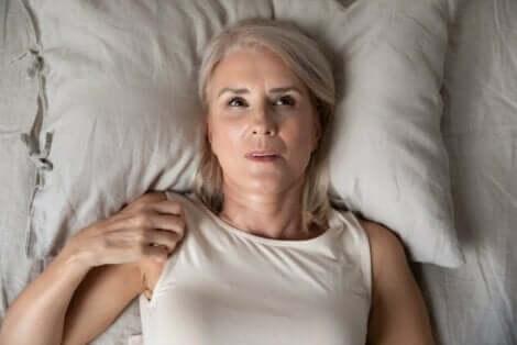 Nächtliche Angstzustände sorgen für Schlaflosigkeit