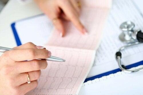 EKG Auswertung