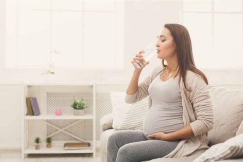 Flüssigkeitszufuhr in der Schwangerschaft