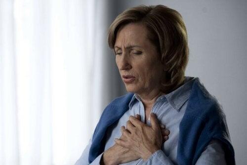 Frau Husten Asthma