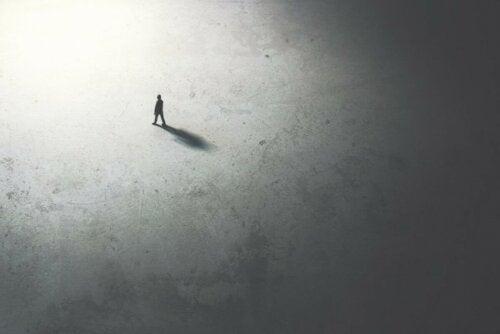 Konzept der Einsamkeit
