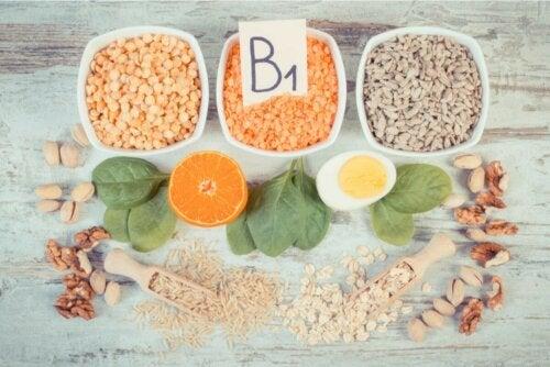 Lebensmittel mit Vitamin B1