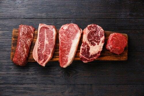 Nahrungsmittelzusatzstoffe in Fleisch