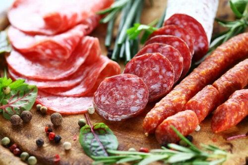 Nahrungsmittelzusatzstoffe in Wurstwaren