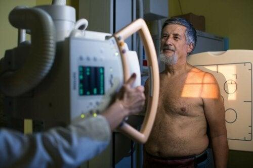Patient CT-Untersuchung