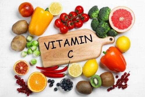 Vitamin C Obst und Gemüse