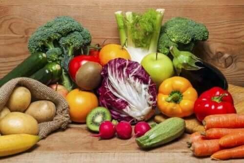 Lebergesundheit - Bio-Gemüse