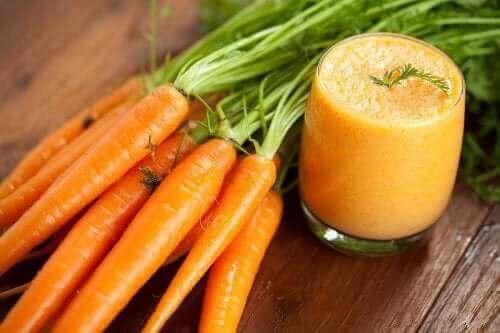 3 Heilmittel mit Karotten gegen Durchfall
