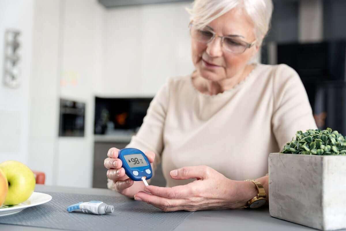 Diabetes ist ein Risikofaktor für den Schnappfinger