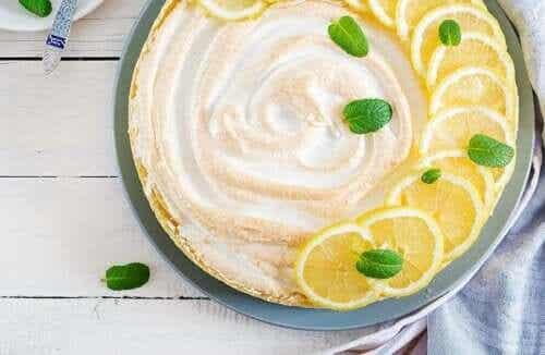 Lemon Meringue Pie ohne Milch und Gluten
