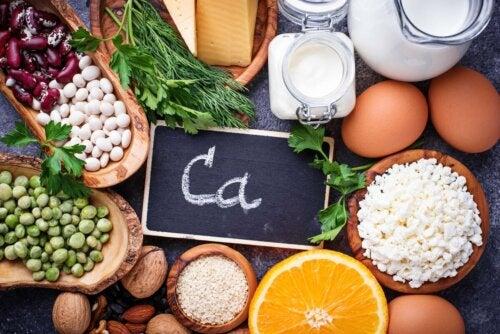 Mineralstoffe und Kalzium