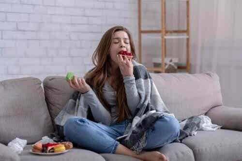 Ich kann nicht aufhören zu essen: Gründe und was man tun kann