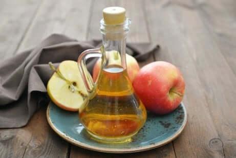 Apfelessig gegen Kalkablagerungen