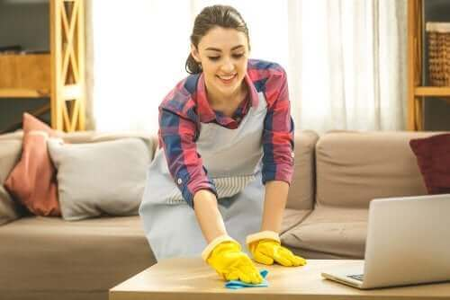 übertriebene Hygiene im Haushalt