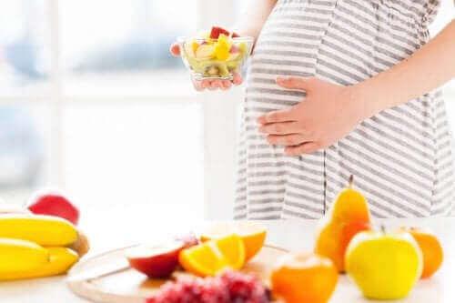 Gesunde Ernährung zur Vermeidung von einer Frühgeburt
