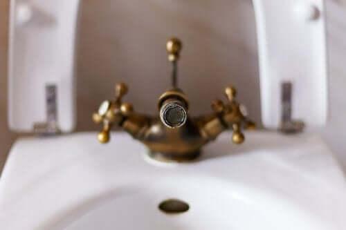 Kalkablagerungen in der Dusche entfernen