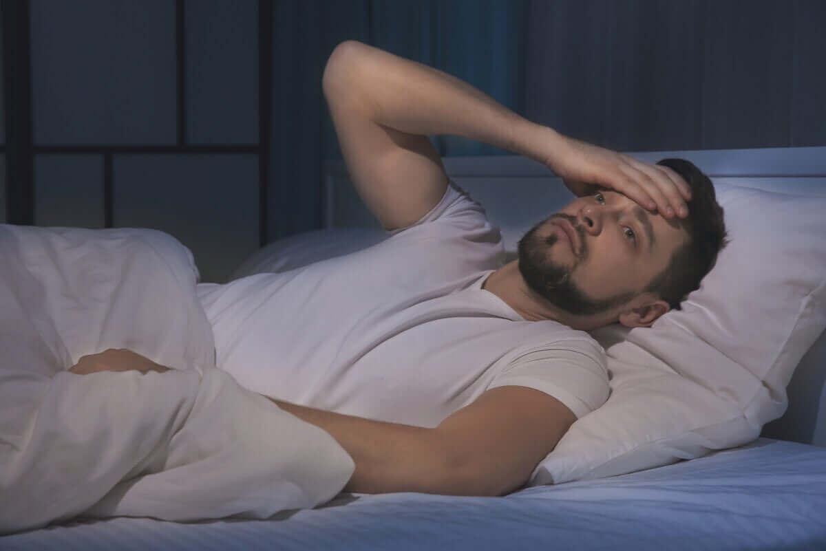 Häufige Ursachen für Schlafstörungen sind Stress und Sorgen