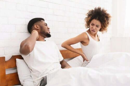 Nach einer Hysterektomie kann es bei den Frauen zu Schmerzen beim Sex kommen