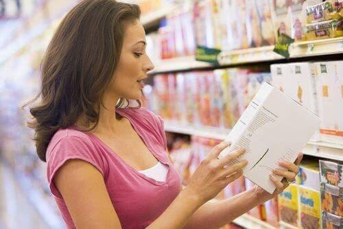Lebensmitteletiketten informieren uns über die Inhaltsstoffe von Lebensmitteln