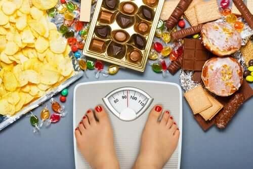 Konsumgewohnheiten, die zu Fettleibigkeit führen