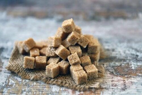 Muscovado und brauner Zucker