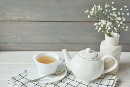 Pfeffer und Honig Tee